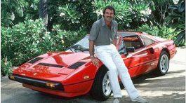 Magnum et sa Ferrari 308 GTS