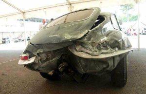 Jaguar accident et assurance