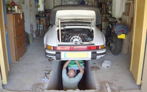 Fosse de garage