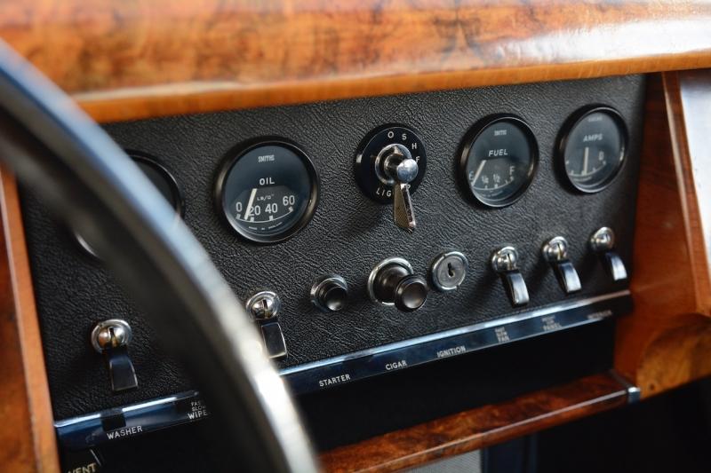 Intérieur Jaguar Mk2