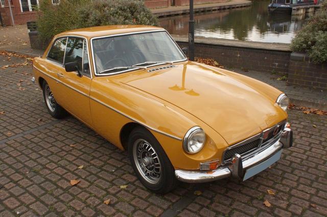 MGB GT 1974