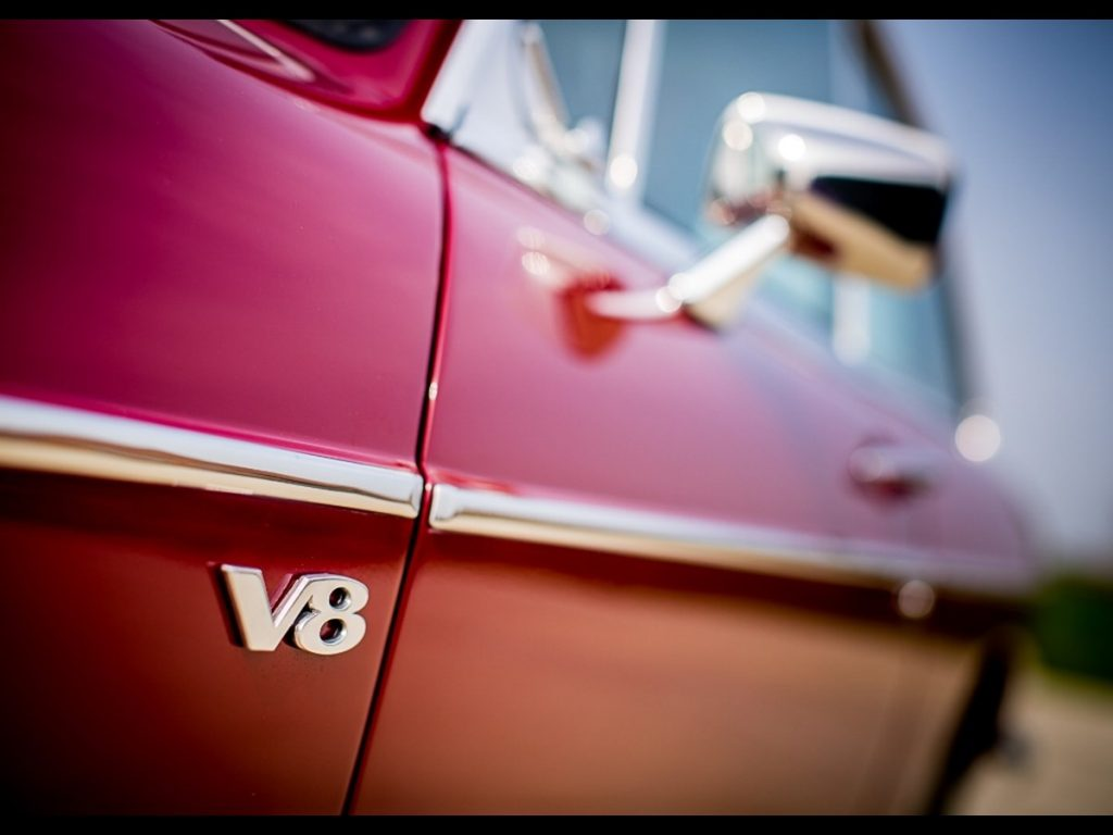 Le sigle V8 est toujours valorisant